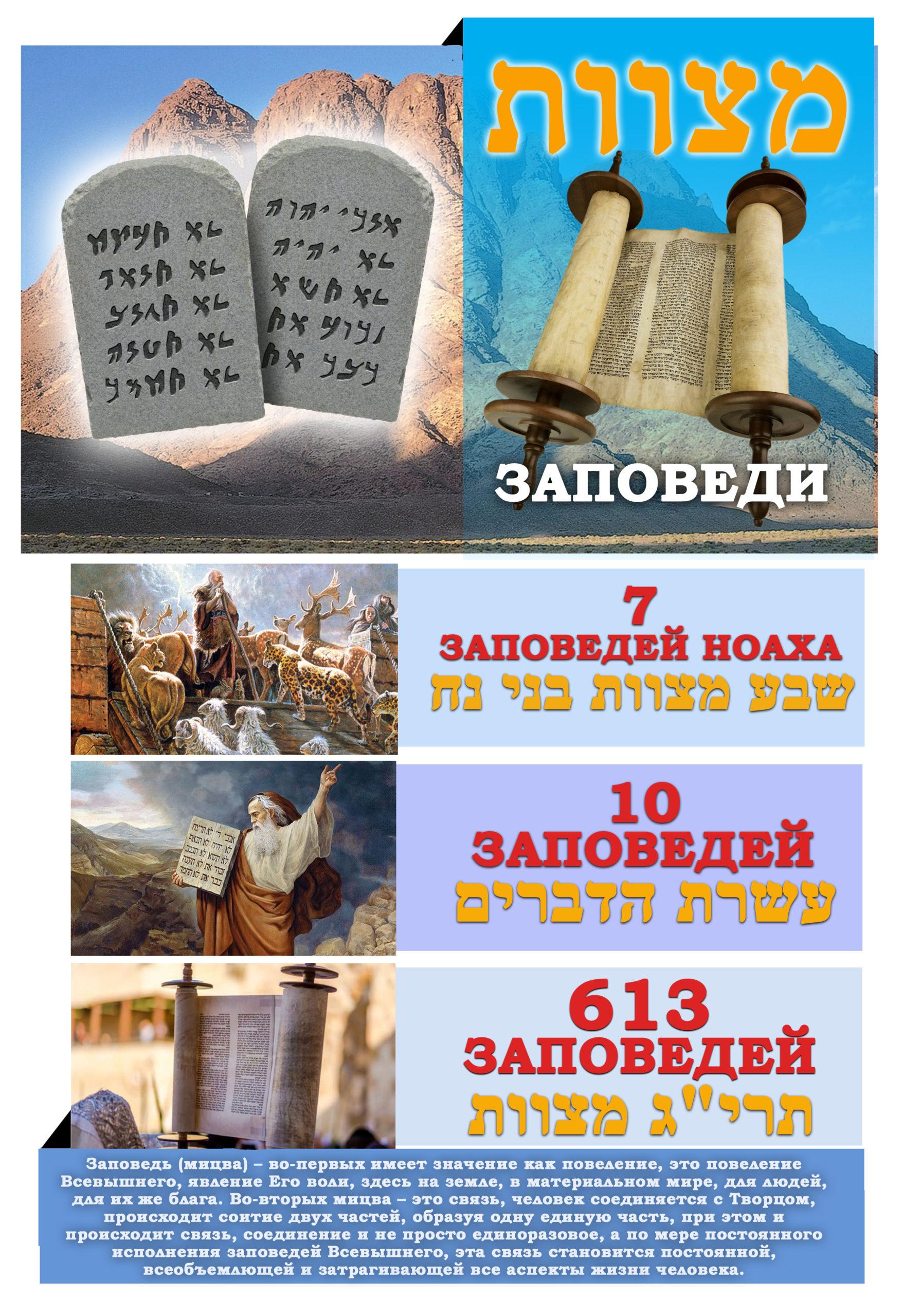Заповеди - Дерех Хаим - Сергей Лемешаев
