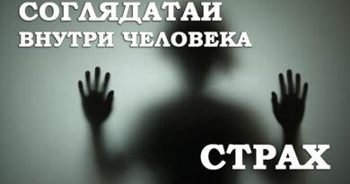 Соглядатаи внутри человека - Страх